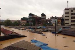 Lạng Sơn: 60 nhà dân bị tốc mái do mưa lốc