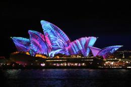 Lung linh lễ hội ánh sáng Vivid Sydney 2017