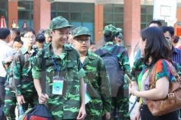 """200 chiến sĩ nhí Thủ đô tham gia """"Học kỳ quân đội"""" khóa 1 năm 2017"""