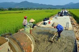 Chương trình xây dựng nông thôn 2018 mới về đích trước 3 tháng