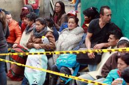 Nóng: Sập hầm than tại Colombia, nhiều người mất tích