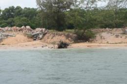 Kiên Giang có hơn 30 km bờ biển Tây sạt lở nghiêm trọng