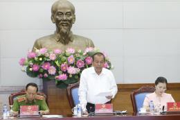 Phó Thủ tướng Trương Hòa Bình: Xử lý nghiêm cán bộ vi phạm pháp luật