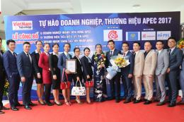 """Việt Hưng Phát lọt vào Top 10 """"Thương hiệu tiêu biểu APEC 2017"""""""