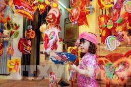 Thị trường đồ chơi Trung thu Hà Nội: Đồ chơi cổ truyền
