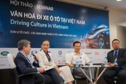Văn hoá lái xe ô tô cần được chú trọng và nâng cao