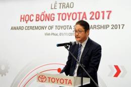 Toyota Việt Nam trao học bổng cho 115 sinh viên xuất sắc 16 trường đại học