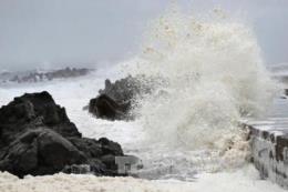 Sóng biển vùng tâm bão số 12 cao 6-8 m, Quảng Trị đến Bình Thuận có mưa đặc biệt to