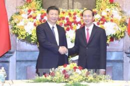Báo chí Trung Quốc đưa tin đậm nét về chuyến thăm Việt Nam của Tổng Bí thư Tập Cận Bình