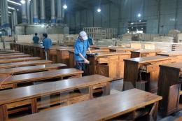 Gần 500 gian hàng tại Hội chợ Đồ gỗ và Trang trí nội thất Việt Nam