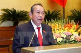 Phó Thủ tướng Trương Hòa Bình kiểm tra công tác cải cách hành chính tại TP. Hồ Chí Minh