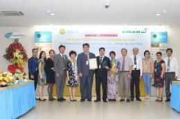 Đơn vị thành viên của Vietnam Airlines nhận giải dịch vụ chất lượng tốt thứ 2 toàn cầu