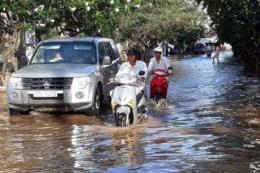Thông tin chính thức về những thiệt hại do triều cường dâng cao kỷ lục ở Bạc Liêu
