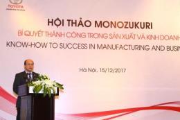 Toyota Việt Nam chia sẻ bí quyết thành công trong sản xuất và kinh doanh
