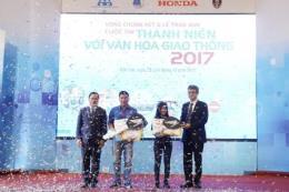 """Chung kết cuộc thi """"Thanh niên với văn hóa giao thông"""" năm 2017"""
