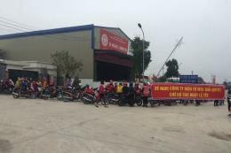 Hơn 400 công nhân Công ty TNHH kỹ thuật điện tử MLS Việt Nam trở lại làm việc