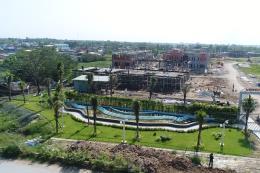Trình làng dự án biệt thự đầu tiên khu Tây Bắc Tp. Hồ Chí Minh