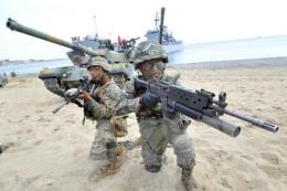 Hàn Quốc, Mỹ tiến hành tập trận chung