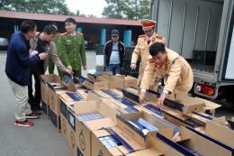 Phát hiện, xử nghiêm các vụ tàng trữ, vận chuyển và mua bán trái phép các loại pháo