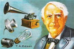 Gợi ý viết thư quốc tế UPU 2018: Gửi ông Thomas Edison và những phát minh vĩ đại
