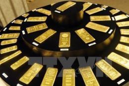 Giá vàng thế giới xuống mức thấp nhất trong hơn một tuần