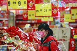 Tỷ lệ lạm phát tại Trung Quốc tăng vọt trong tháng 2