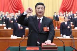 Bầu các chức danh lãnh đạo khóa mới   - Chủ tịch Tập Cận Bình tái đắc cử nhiệm kỳ 2