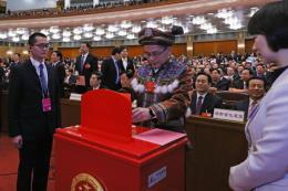 Bầu Tổng Thư ký Quốc hội và các Phó Chủ tịch Quốc hội Trung Quôc