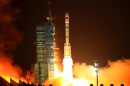 Trạm không gian Thiên Cung-1 vỡ tung trên hành trình rơi xuống Nam Thái Bình Dương