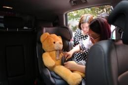 Không thắt dây an toàn có thể bị bật khỏi xe ô tô cao gấp 30 lần khi va chạm
