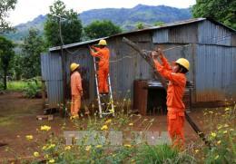Toàn huyện Điện Biên Đông, tỉnh Điện Biên đã có điện trở lại