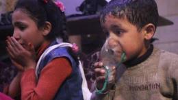 Nga: Hình ảnh vụ tấn công hóa học tại Syria được dàn dựng