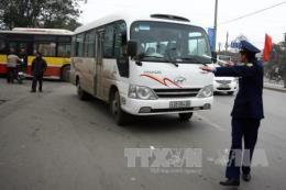 Hà Nội: Xử lý nghiêm xe hợp đồng trá hình xe khách