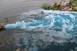 Quảng Ninh: Bắt giữ hai đối tượng xả chất thải ra môi trường