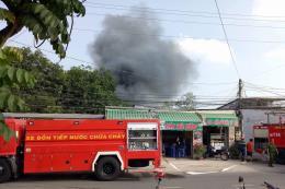 Bình Dương: Hỏa hoạn thiêu rụi 500m2 nhà xưởng của Công ty Hải Hưng Phát