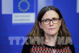 EU sẽ đấu tranh đến cùng nhằm ngăn chặn Mỹ áp thuế hàng hoá