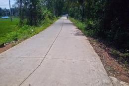 Thực hư thông tin con đường tại Phú Thọ chưa làm xong đã hỏng?
