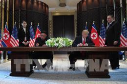 Hội nghị thượng đỉnh Mỹ - Triều Tiên: Toàn văn Tuyên bố chung Mỹ - Triều