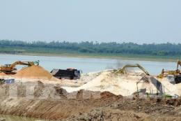 Tạm ngừng khai thác cát trong hồ Dầu Tiếng từ ngày 20/4