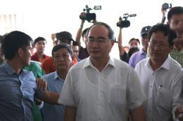 Bí thư Thành ủy TPHCM thăm người dân bị ảnh hưởng bởi dự án Khu đô thị mới Thủ Thiêm