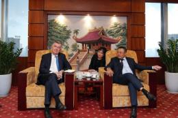 Ngân hàng Societe Generale muốn tài trợ các dự án nhiệt điện của PVN