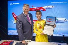 Vietjet Air ký Hợp đồng với Boeing và Airbus mua 150 máy bay