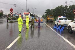 Hệ thống đường bộ tại miền Trung hoạt động bình thường sau bão số 3
