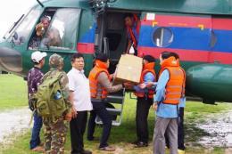 Vụ vỡ đập thuỷ điện ở Lào: Petrolimex hỗ trợ xăng dầu cho các xe cứu hộ, cứu nạn