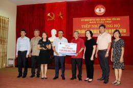 PVN hỗ trợ 1,5 tỉ đồng cho đồng bào bị ảnh hưởng bởi lũ lụt ở Yên Bái