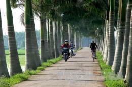 Xây dựng kết cấu hạ tầng nông thôn gắn với phát triển đô thị
