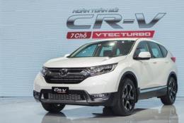 Cập nhật bảng giá xe ô tô Honda tháng 9/2019, khuyến mại CR-V và HR-V