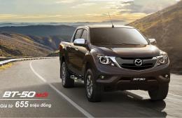 Bảng giá xe Mazda tháng 8/2018, thêm mẫu bán tải Mazda BT-50 mới