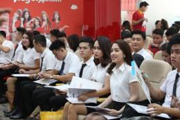 Vietjet Air tổ chức tuyển dụng tiếp viên trong tháng 8