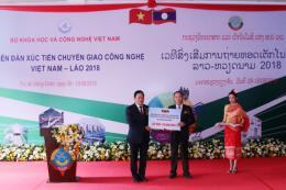 Khai mạc Diễn đàn TechConnect Việt Nam – Lào 2018